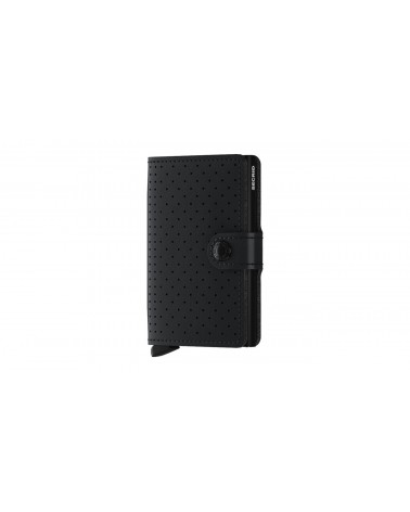 Portefeuille Miniwallet Secrid - Ultra compact - Perforated black - L'interprète Concept Store
