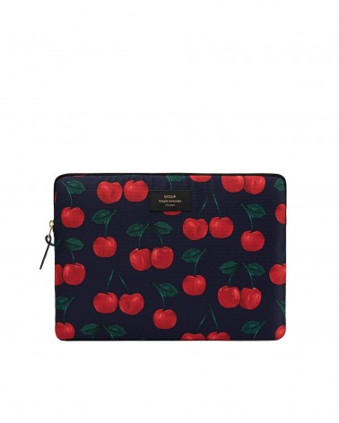 "WOUF - Housse Protection Ordinateur 13"" - Wild Cherries - L'interprète Concept Store"