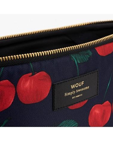 """WOUF - Housse Protection Ordinateur 13"""" - Wild Cherries - L'interprète Concept Store"""