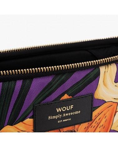 """WOUF - Housse Protection Ordinateur 13"""" - Wild Hawaï - L'interprète Concept Store"""