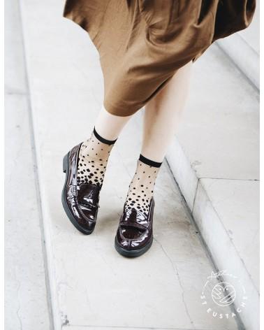 Chaussettes Transparente Femme - NAKAMEGURO BLACK - L'interprète Concept Store