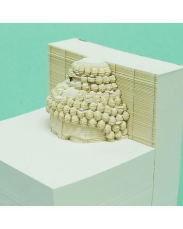 BLOC NOTE - PULP - WORKSPACE 3D OBJECT - BUDHAA - L'interprète Concept store