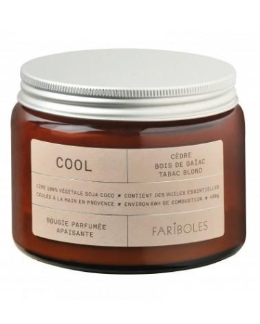 BOUGIE - FARIBOLES - COOL 400G - L'interprète Concept Store
