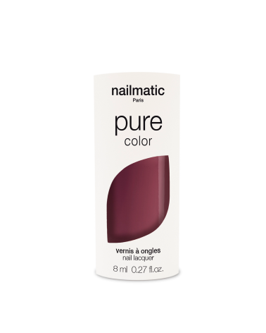 VERNIS À ONGLES 8ML - NAILMATIC - BIOSOURCE MISHA - PRUNE