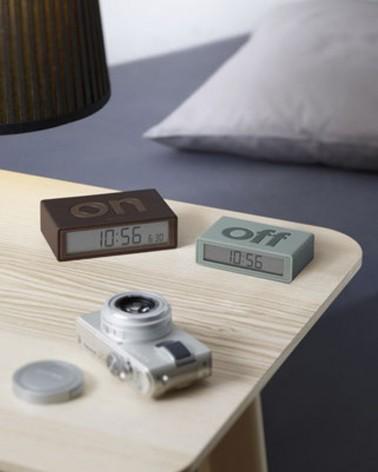 Réveil Lexon Flip - Radio réveil - Double face - Fonction tactile - L'interprète Concept Store